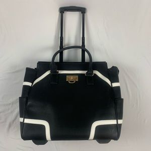 SALE Cabrelli&Co rolling travel bag leather